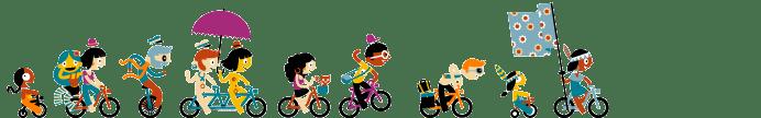 dessins vélos