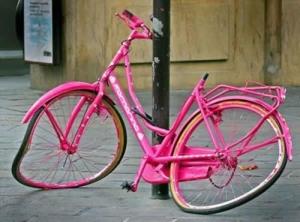vélo abimé
